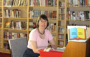 Sharon, church librarian