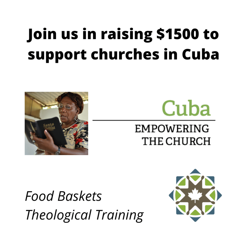 Supporting churches in Cuba